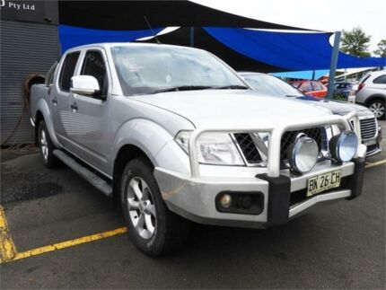 2010 Nissan Navara D40 ST-X Silver 6 Speed Manual Utility Colyton Penrith Area Preview