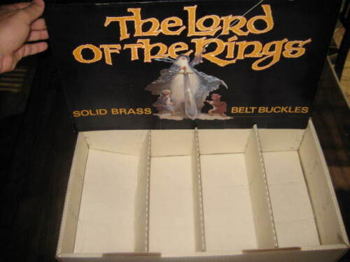 Bakshi Lord of the Rings 1978 1979 Belt Buckle Display Tom Jung art