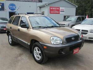 2002 Hyundai Santa Fe GL| MUST SEE| NO RUST| NO ACCIDENTS| ALLOY