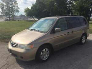2004/Honda Odyssey All option with DVD.. $2800+hst