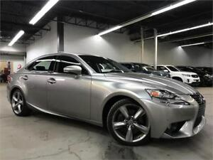 LEXUS IS350 AWD 2014 / NAVI / CAMERA / 35700KM /**LIQUIDATION!!