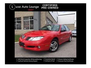 2005 Pontiac Sunfire SLX - CLEAN BODY! NO RUST! A/C, AUTO, CD!