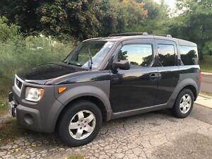2003 Honda Element w/Y Pkg + Hitch, Roof Rack & Snow Tires