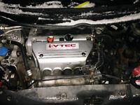 HONDA CIVIC SI 6 SPEED TRANY ENGINE