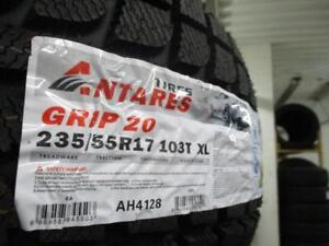 235/55 R17 ANTARES GRIP20 WINTER TIRES *BRAND NEW*
