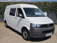 VOLKSWAGEN TRANSPORTER 2.0 TDi 140 LWB T30 5 SEATER CONVERSION / HIGH ROOF!!!!!!