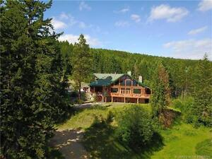 7981/8015 Silver Star Rd, Vernon BC - Log Home on 10 Acres!