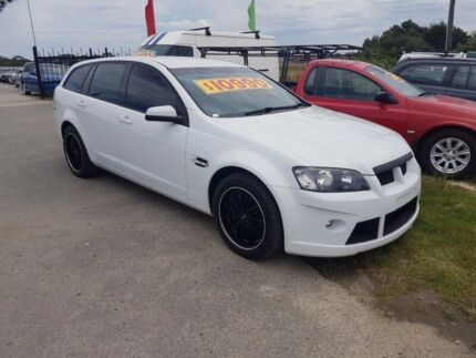 2009 Holden Commodore VE MY09.5 Omega White 4 Speed Automatic Sportswagon Officer Cardinia Area Preview