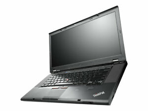 "15.6"" Lenovo Thinkpad T520 Core i5-2520m Windows 10 Pro Laptop"