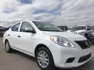 2013 NISSAN VERSA S| 1.6L| AUX| NEW ALL SEASON TIRES