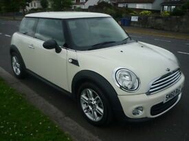 MINI One 1.6I 16V ONE PEPPER PACK **Full Service History / Low Mileage** (white) 2010