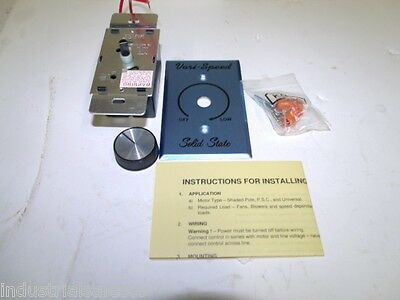 Lot Of 12 New Kb Electronic Variable Speed Motor Control Model Kbwc -25k