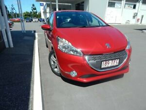2012 Peugeot 208 A9 Allure Burgundy 4 Speed Automatic Hatchback