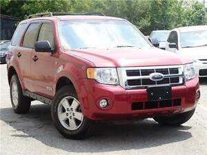 2008 Ford Escape XLT- with Safety & Emission