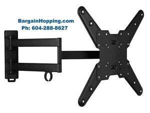 26-47 inch Full Motion Swivel Tilt TV Bracket Wall Mount