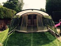 Outwell Montana 6p tent and front extension