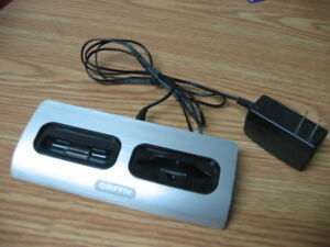 Ipod Chargeur Griffin double pour ipod classic. ipod touch, ect