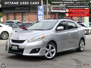 2009 Toyota Matrix XR ACCIDENT FREE! EXTRA SET OF WINTER TIRES