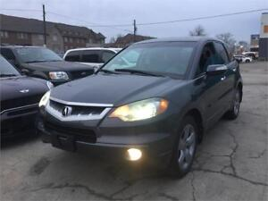 2007 Acura RDX Clean Carfax Ontario AWD Low KM Leather Sunroof