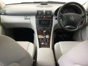 2006 Mercedes-Benz C180 Kompressor W203 MY07 Classic Silver 5 Speed Automatic Sedan