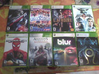 XBOX 360 GAMES 5$ EACH PICK UP ONLY
