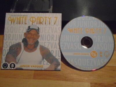 RARE PROMO Junior Vasquez CD White Party 7 Destiny's Child beyonce Cissy Houston (Kids Party Houston)