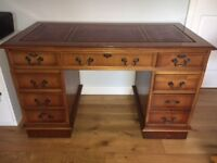 Lovely Edwardian style desk with chair