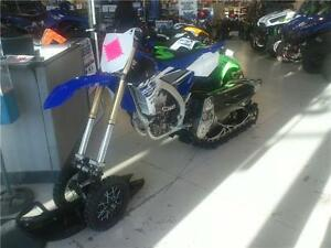 2015 Yamaha 450F Snow Bike