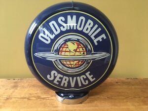 Globe de Pompe a Essence Oldsmobile