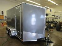*NEW*  7X12 PLUS V-NOSE STEALTH TITAN, EXTRA HEIGHT & BARN DOORS