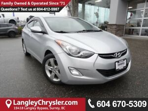 2012 Hyundai Elantra GLS *ACCIDENT FREE*ONE OWNER*LOCAL BC CAR*
