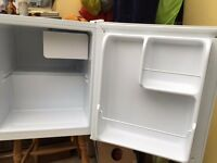 Small Table top Fridge. Ex Argos bought recently and hardly used