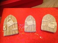 Fairy doors suitable for inside or outside, can be painted ideal gift for child