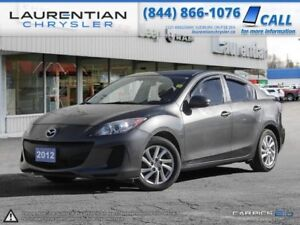 2012 Mazda  GS-SKY ACTIVE -HEATED SEATS, BLUETOOTH, SUNROOF!!!