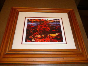 Group of Seven, Tom Thomson Numbered Collectible Paintings, Limi