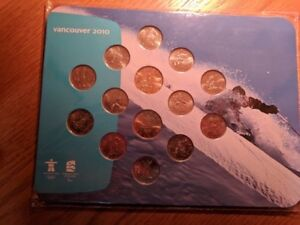 Proof Set Canada Mint Coins (Money) Old