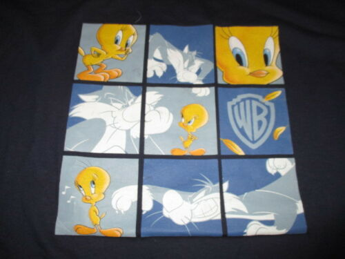 1999 WB Looney Tunes TWEETY BIRD - SYLVESTER (2XL) Shirt