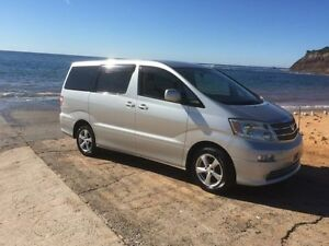 2002 Toyota Alphard MNH15W MNH15W Silver Automatic Wheelchair Transporter North Manly Manly Area Preview