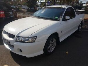 2004 Holden Commodore VZ S White 4 Speed Automatic Utility Campbelltown Campbelltown Area Preview