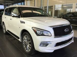 2017 Infiniti QX80 EXECUTIVE DEMO TECHNOLOGY PACKAGE