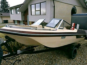EDSON Tri Hull 16ft Boat 120HP