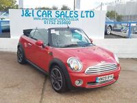 MINI CONVERTIBLE 1.6 COOPER 2d 120 BHP (red) 2009