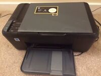 hp `deskjet f2420 series all in one printer scanner copier