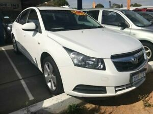 2010 Holden Cruze JG CD White 5 Speed Manual Sedan St James Victoria Park Area Preview