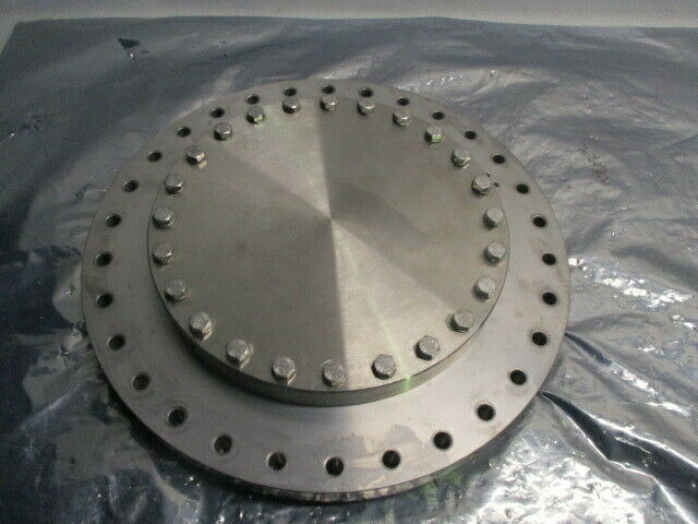Blank Off Pumping Flange Cover Pumping Port, Gate Valve, Turbo, High VAC, 100968