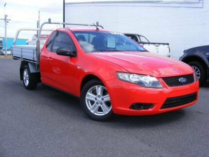 2009 Ford Falcon FG Super Cab Red 4 Speed Automatic Cab Chassis Devonport Devonport Area Preview