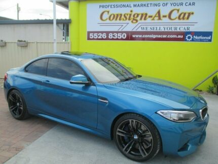 2016 BMW M2 F87 D-CT Blue 7 Speed Sports Automatic Dual Clutch Coupe Bundall Gold Coast City Preview