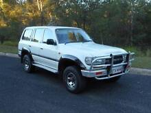 1991 TOYOTA LANDCRUISER GXL SWAGON 4.2LT DIESEL 5SPD BRISBANE REG Clear Mountain Pine Rivers Area Preview