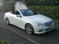 Mercedes-Benz E250 1.8 CGI Blue F auto Sport (201 BHP) CONVERTABLE 2010 (60) FSH