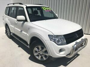 2013 Mitsubishi Pajero NW MY14 GLX-R White 5 Speed Sports Automatic Wagon Mundingburra Townsville City Preview